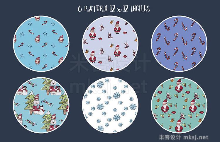 png素材 Merry Christmas illustrations set
