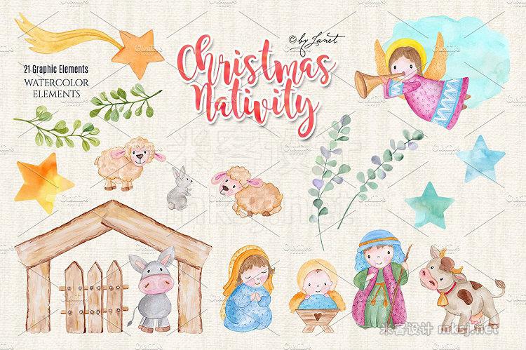 png素材 Christmas Nativity