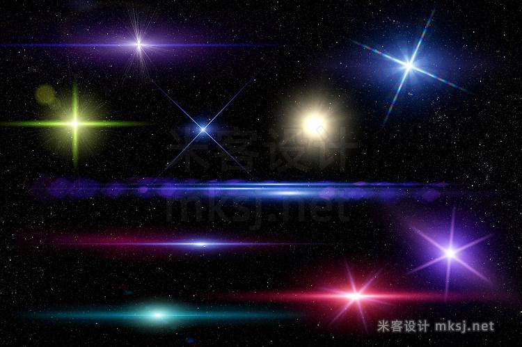 png素材 10 Optical Lens Flares