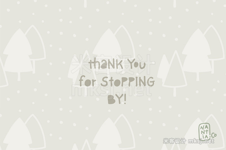 png素材 Sweet Christmas Patterns