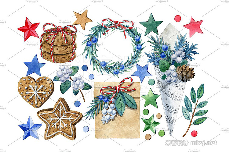 png素材 Christmas set