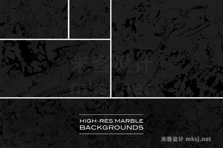 png素材 Marble Black Edition