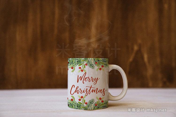 png素材 Christmas watercolor set