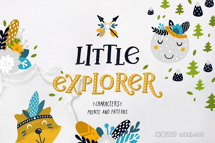 png素材 Little explorer - woodland animals
