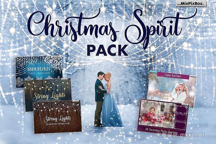 png素材 Christmas Spirit Pack