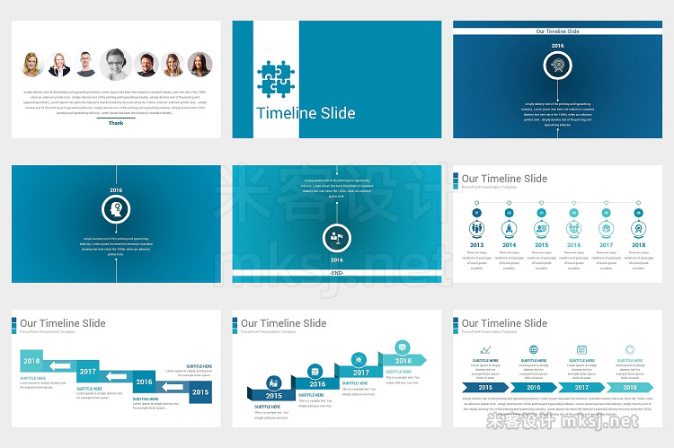 PPT模板 Business Plan Template 2 In 1
