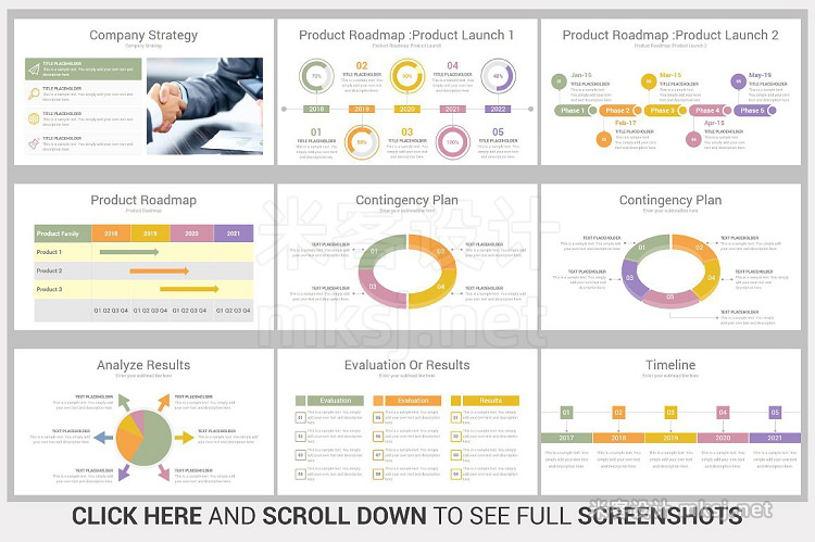 PPT模板 Multi Business PowerPoint Template